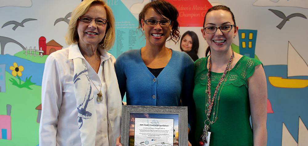 Award to IWK and Foundation