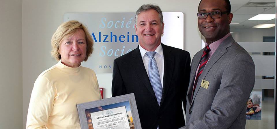 Haliward to Alzheimer Society of Nova Scotia