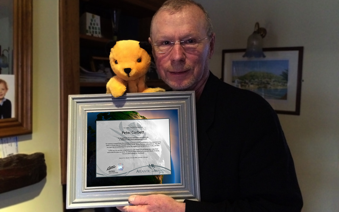 Award to Peter Corbett (Matthew Corbett)