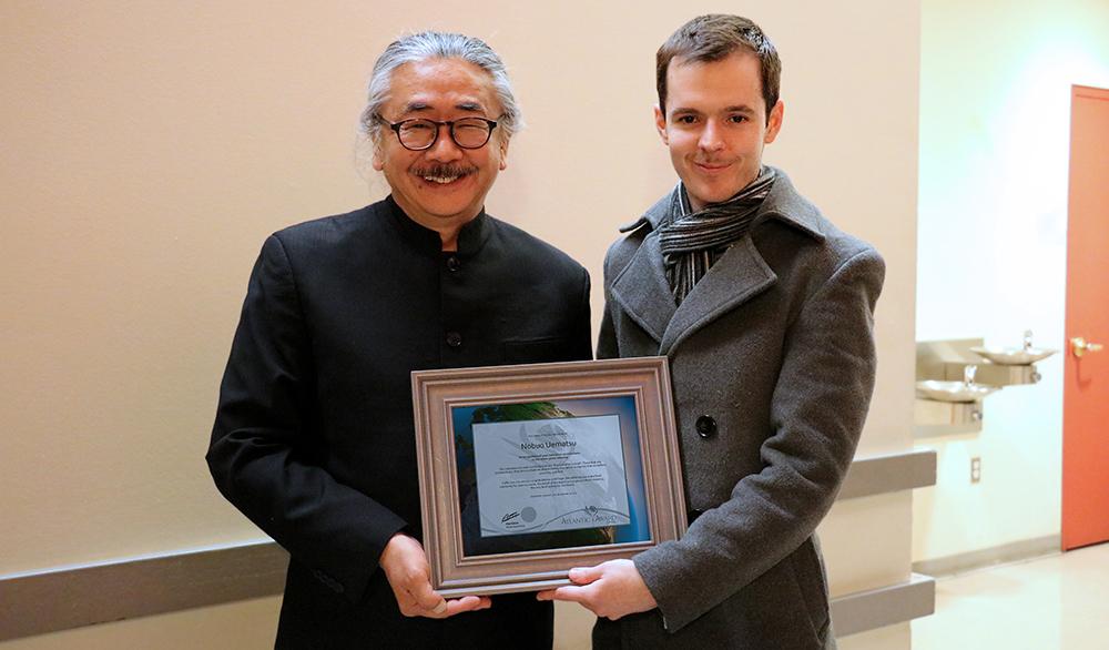 Award to Nobuo Uematsu