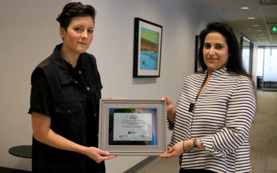 Award to Ria Mae